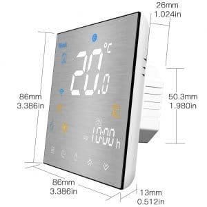 dimezije ice wifi termostata
