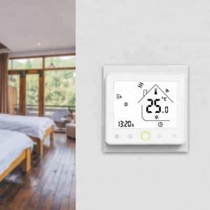 b&w bijeli wifi termostat