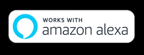 works with amazon alexa logo