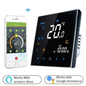 rbb crni wifi termostat s mobilnom aplikacijom